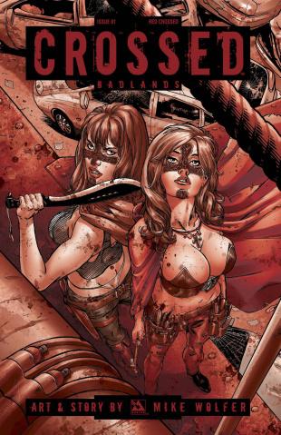 Crossed: Badlands #81 (Red Crossed Cover)