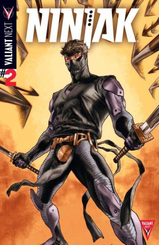 Ninjak #2 (Larosa Cover)