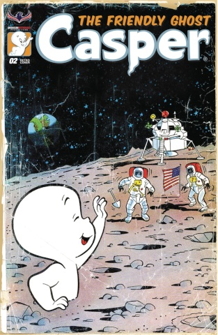 Casper, The Friendly Ghost #2 (3 Copy Retro Animation Cover)