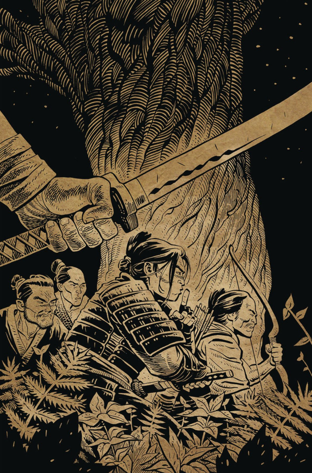 Ronin Island #8 (Preorder Young Cover)