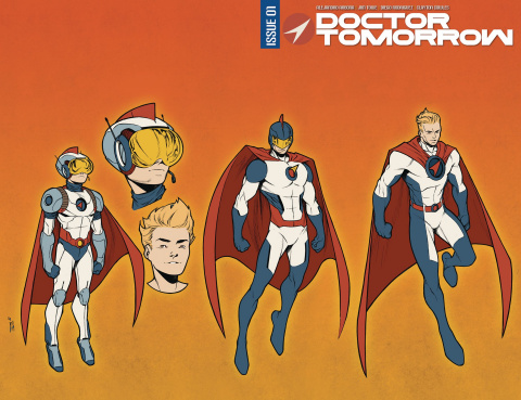 Doctor Tomorrow #1 (25 Copy Wrap Towe Cover)