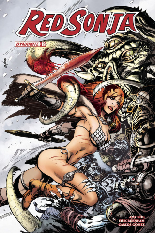 Red Sonja #19 (Mandrake Cover)
