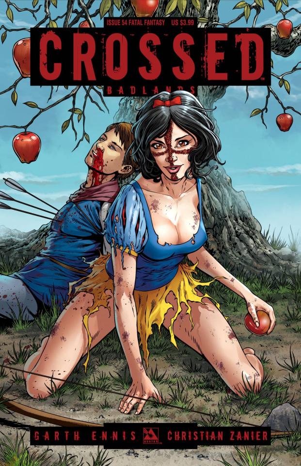 Crossed: Badlands #54 (Fatal Fantasy Cover)