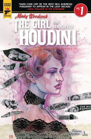Minky Woodcock: The Girl Who Handcuffed Houdini #1 (Mack Cover)