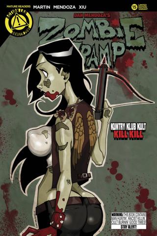 Zombie Tramp #15 (Mendoza Cover)