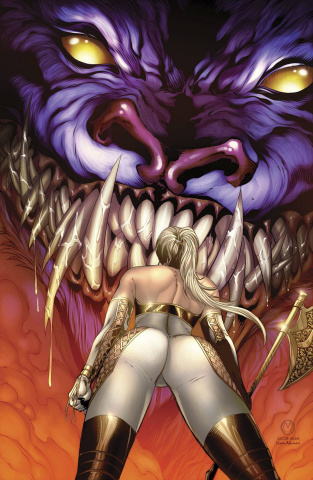 Grimm Fairy Tales: Wonderland #32 (Mychaels Cover)