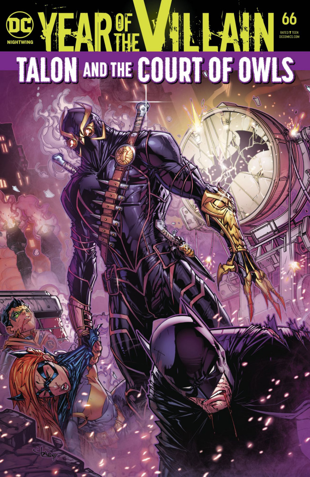 Nightwing #66 (Year of the Villain)
