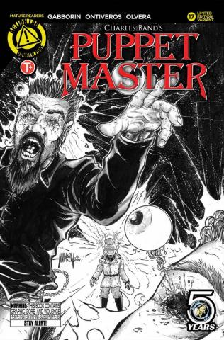 Puppet Master #17 (Mangum Sketch Kill Cover)