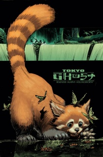 Tokyo Ghost #5 (Murphy & McCaig Cover)