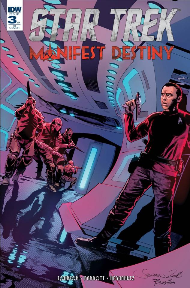 Star Trek: Manifest Destiny #3 (10 Copy Cover)