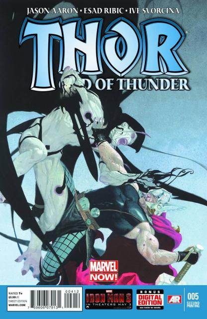 Thor: God of Thunder #5 (2nd Printing)