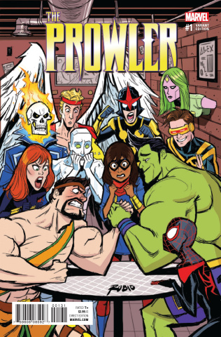 The Prowler #1 (Rubio Champions Cover)
