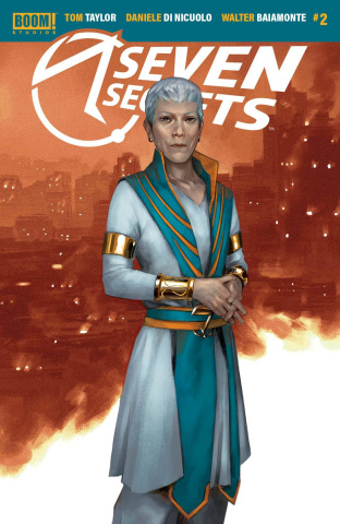 Seven Secrets #2 (10 Copy Mercado Connecting Cover)