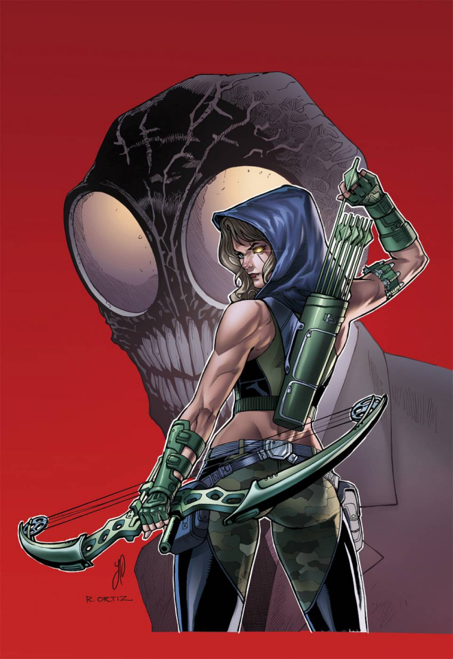 Grimm Fairy Tales: Robyn Hood #10 (Plague Pt. 2, Ortiz Cover)