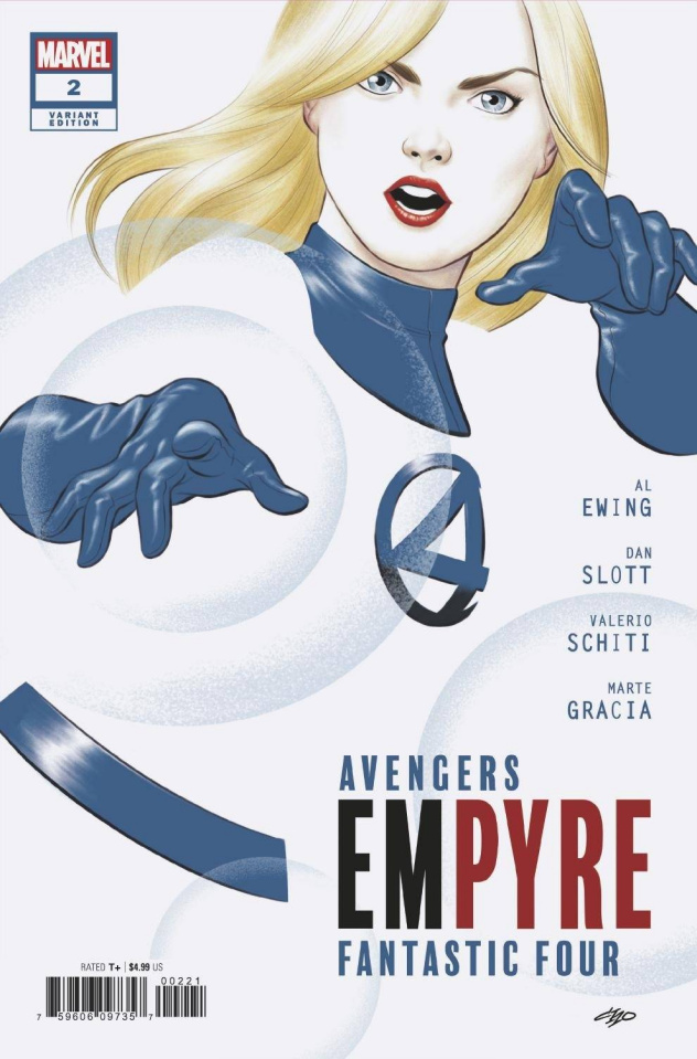 Empyre #2 (Michael Cho FF Cover)