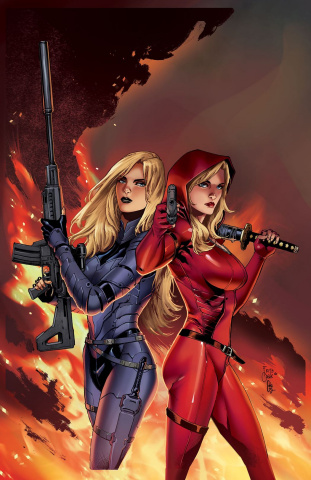 Grimm Fairy Tales: Red Agent - The Human Order #4 (Casas Cover)