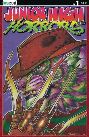 Junior High Horrors #1 (Frederick Cover)