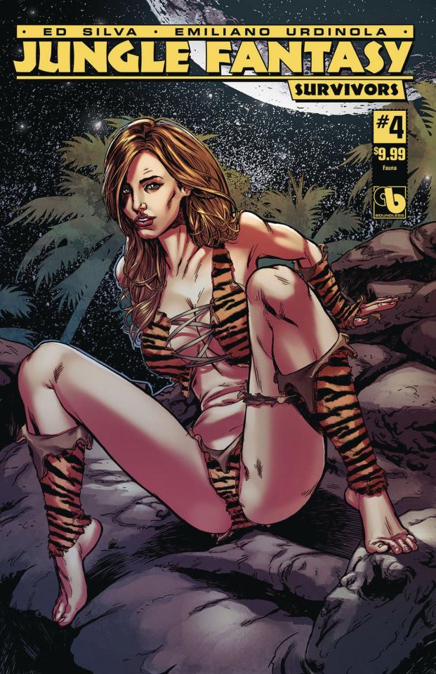 Jungle Fantasy: Survivors #4 (Fauna Cover)