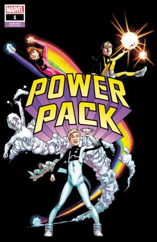 Power Pack #1 (Brigman Hidden Gem Cover)