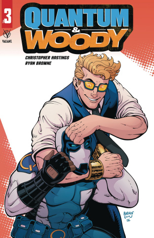 Quantum & Woody #3 (Robson Cover)
