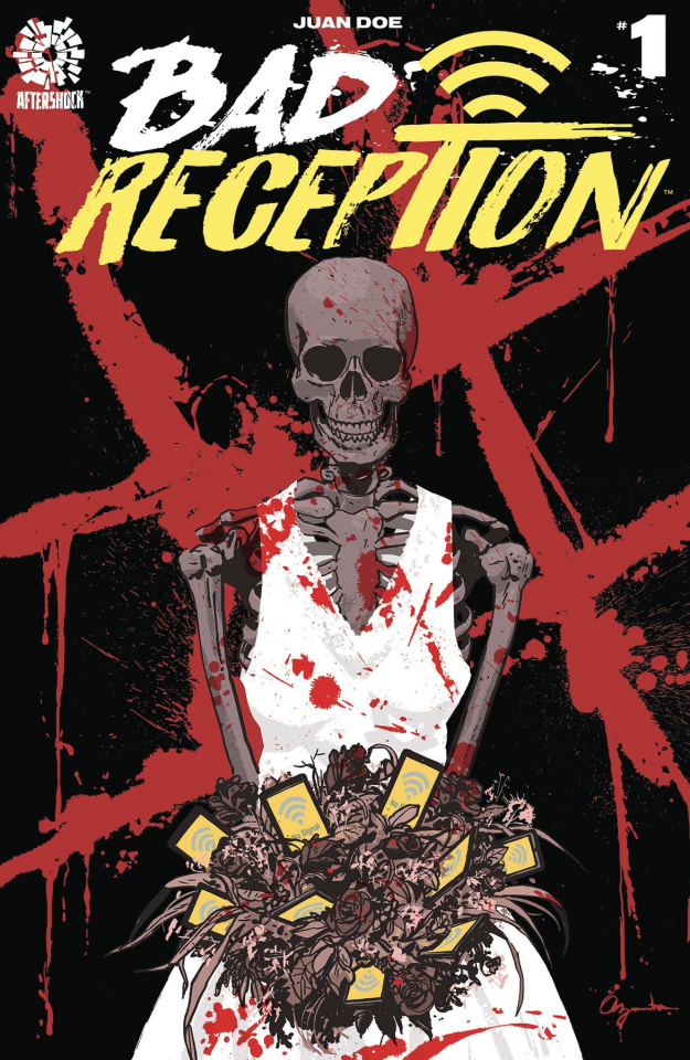 Bad Reception #1 (10 Copy Azaceta Cover)