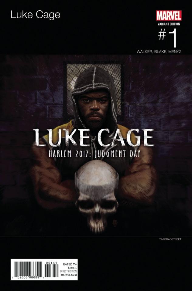 Luke Cage #1 (Bradstreet Hip Hop Cover)