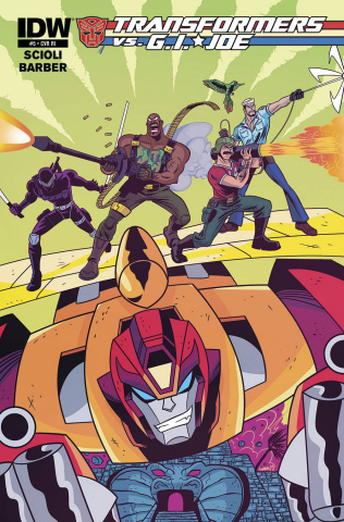 Transformers vs. G.I. Joe #5 (10 Copy Cover)