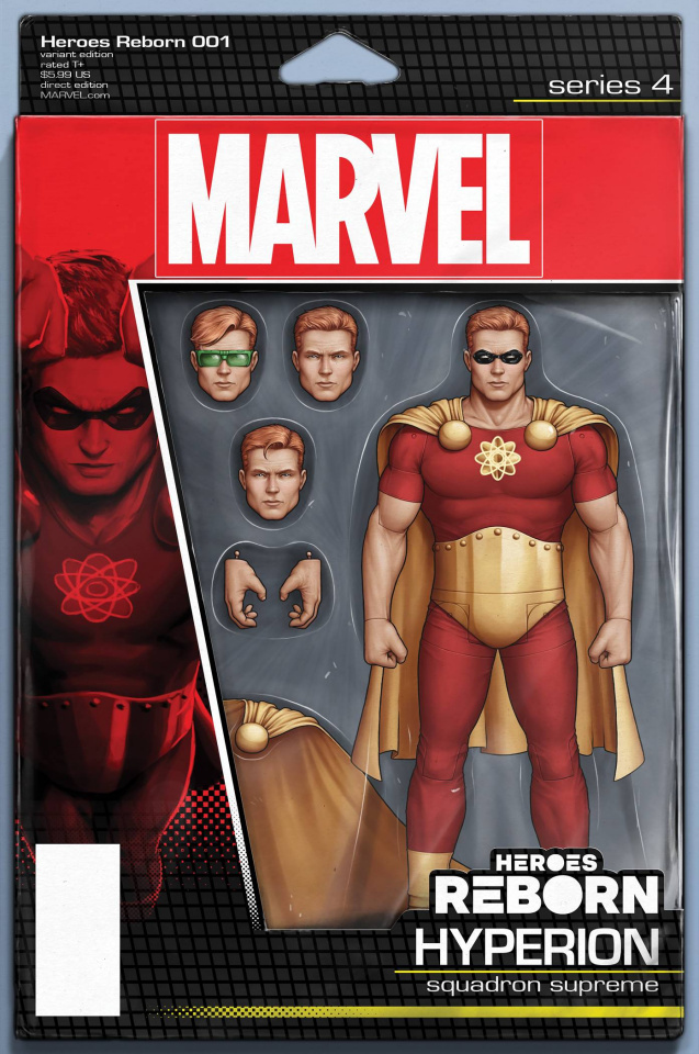 Heroes Reborn #1 (Christopher Action Figure Cover)