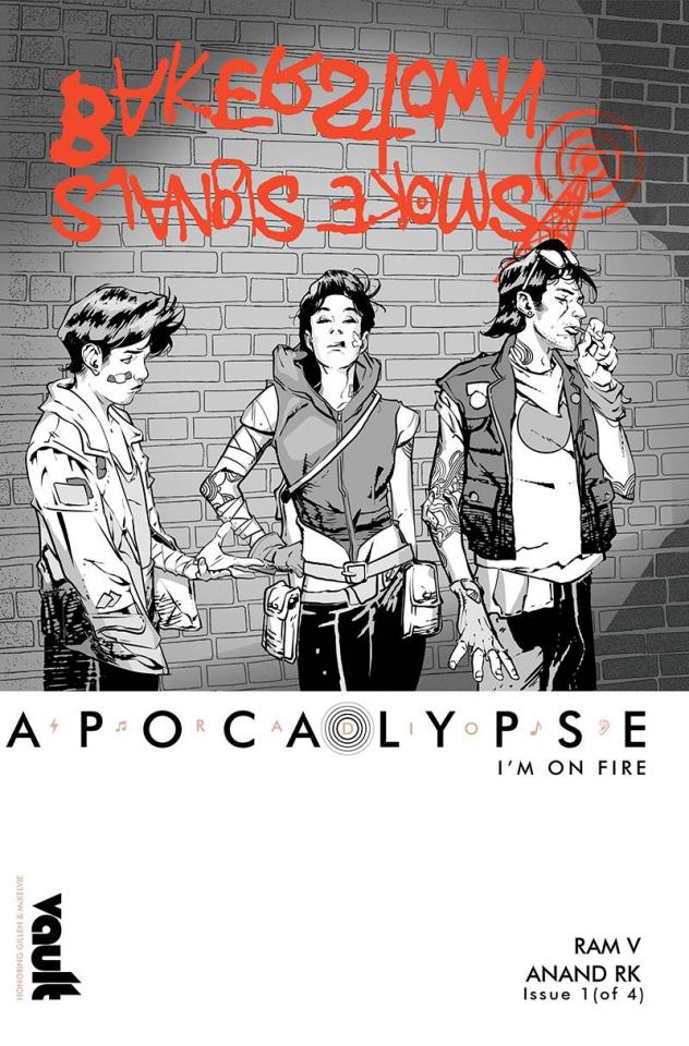 Radio Apocalypse #1 (Cover B)