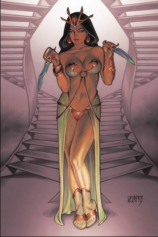 Dejah Thoris #5 (Linsner Virgin Cover)