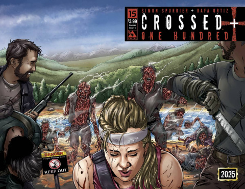 Crossed + One Hundred #15 (American History X Wrap Cover)