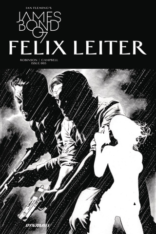 James Bond: Felix Leiter #5 (10 Copy B&W Cover)