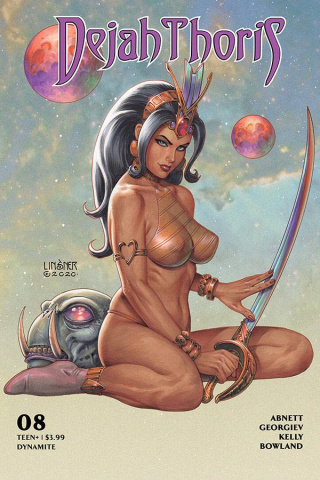 Dejah Thoris #8 (Linsner Cover)