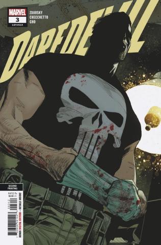 Daredevil #3 (Checchetto 2nd Printing)