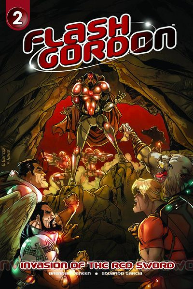 Flash Gordon: Invasion of the Red Sword #2