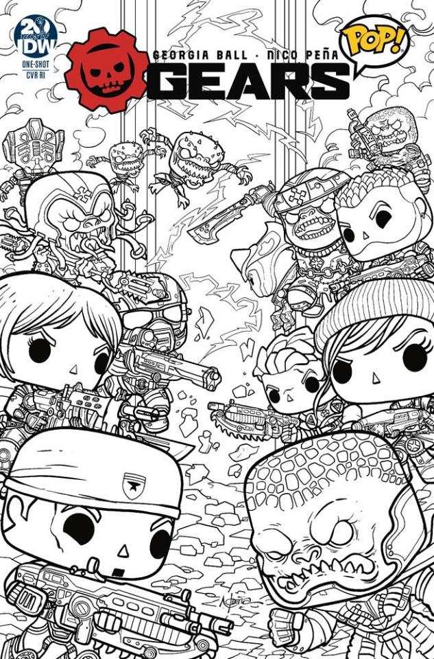 Gears of War: Pop! #1 (10 Copy Pena Cover)