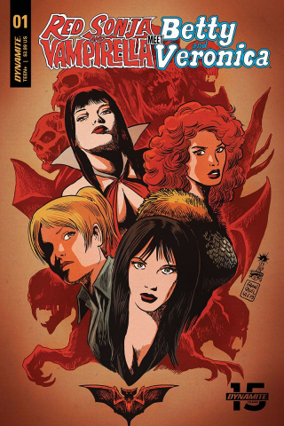 Red Sonja and Vampirella Meet Betty and Veronica #1 (Francavilla Cover)