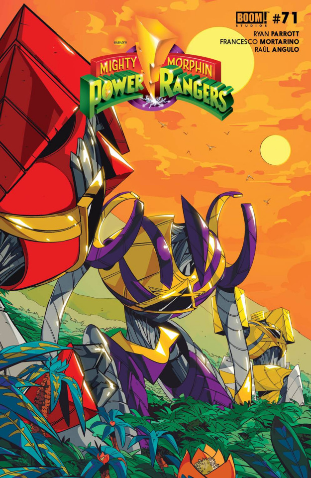 Power Rangers #8 (Legacy Di Nicuolo Cover)