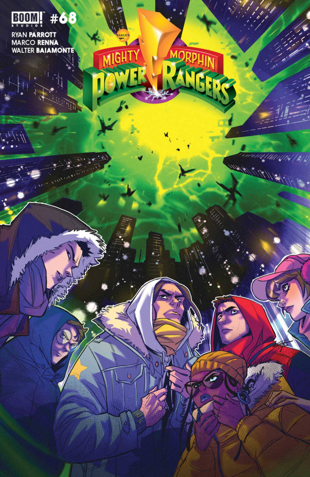Mighty Morphin' #7 (Legacy Carlini Cover)