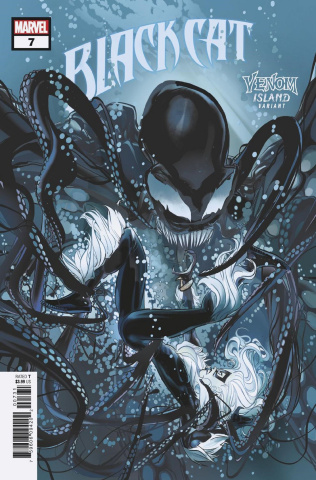 Black Cat #7 (Schmidt Venom Island Cover)