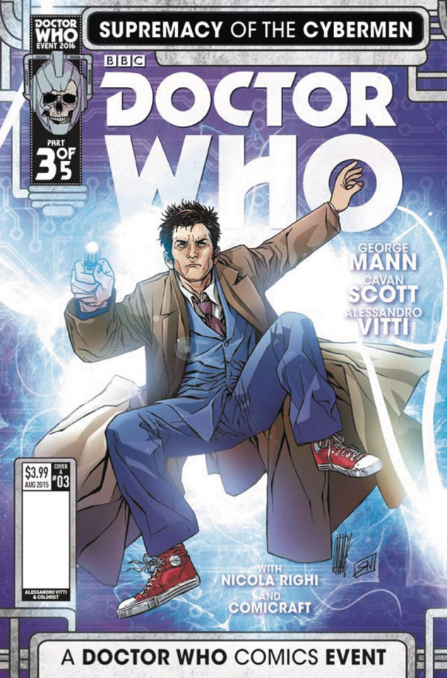 Doctor Who: Supremacy of the Cybermen #3 (Vitti Cover)