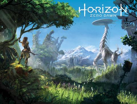 Horizon: Zero Dawn #3 (Game Art Wraparound Cover)