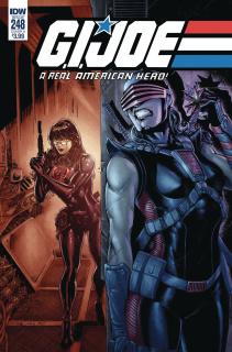 G.I. Joe: A Real American Hero #248 (Diaz Cover)