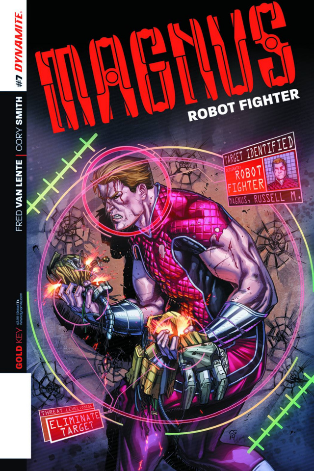 Magnus, Robot Fighter #7 (Smith Subscription Cover)
