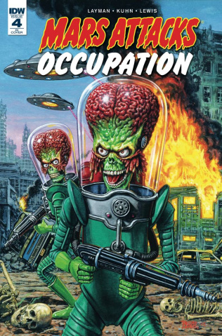Mars Attacks: Occupation #4 (10 Copy Cover)