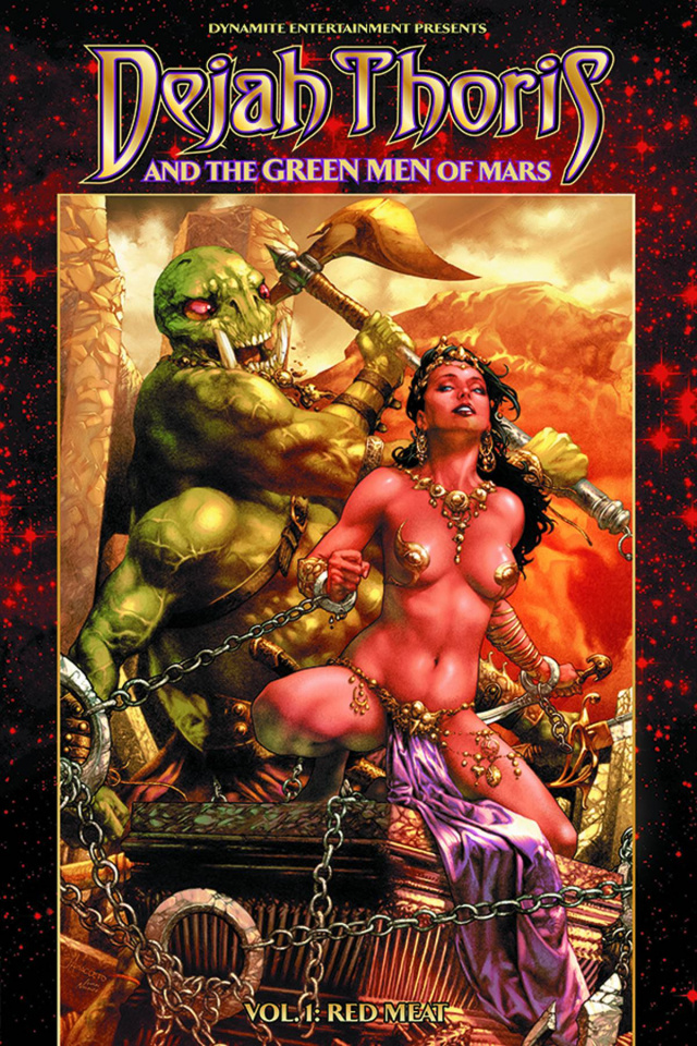 Dejah Thoris & The Green Men of Mars Vol. 1: Red Meat
