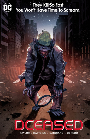 DCeased #6 (Card Stock Horror Cover)