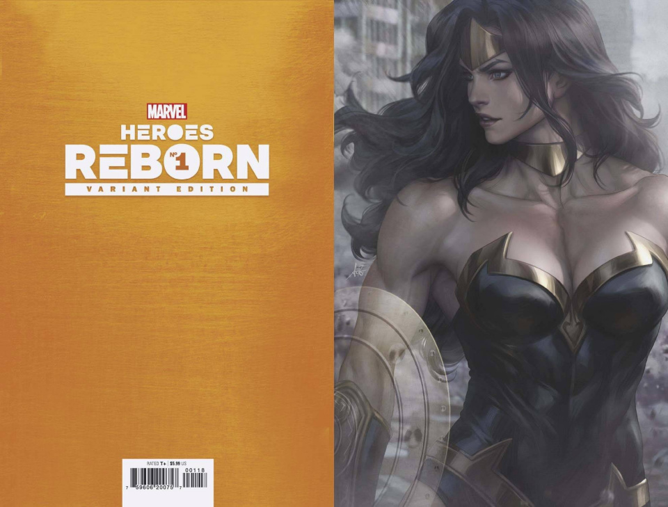 Heroes Reborn #1 (Artgerm Virgin Cover)