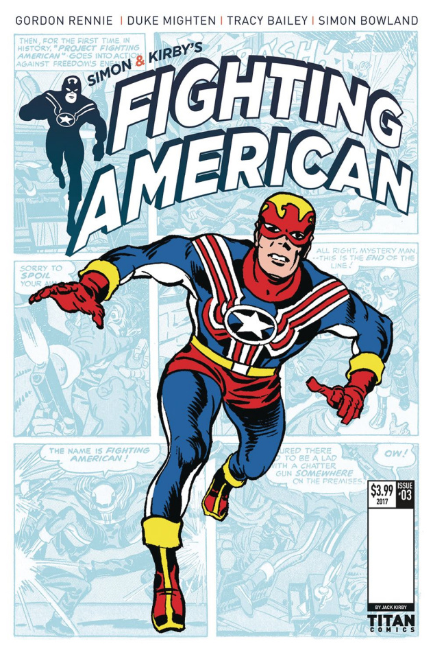 Fighting American #3 (Kirby Cover)