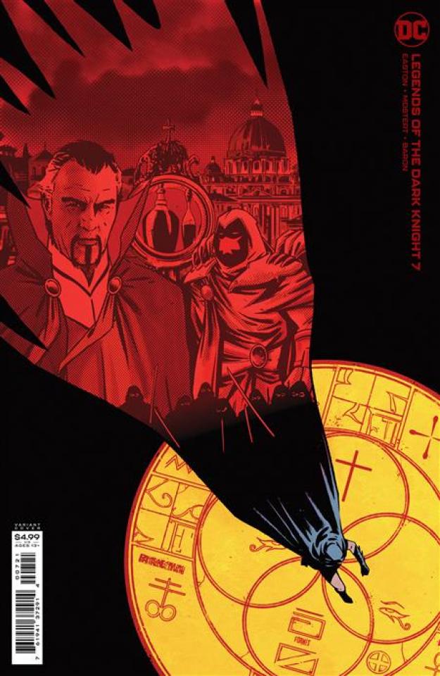 Legends of the Dark Knight #7 (Daniel Warren Johnson & Mike Spicer Card Stock Cover)